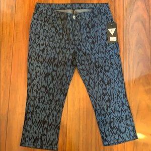 be-girl Printed Capri Jeans Size 9-10
